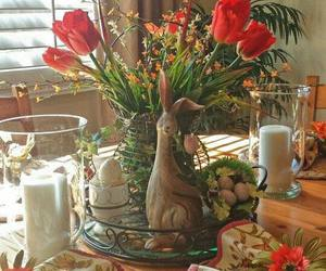 bunny, easter, and holidays image
