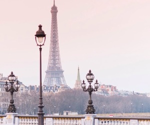 chic, eiffel tower, and france image