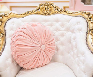 pink, antique, and art image