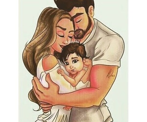 family, love, and art image