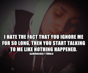 ignore and quote image