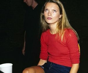 kate moss, 90s, and model image