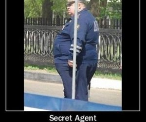 funny, secret, and agent image