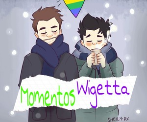 gay, willyrex, and vegetta777 image