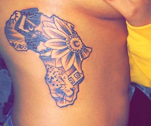 tattoo, africa, and beautiful image