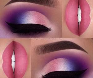 art, beauty, and lipstick image