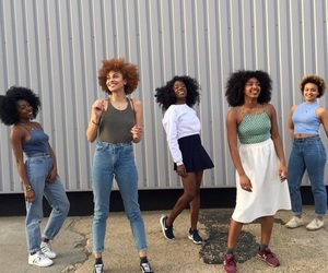 fashion, style, and black girl magic image