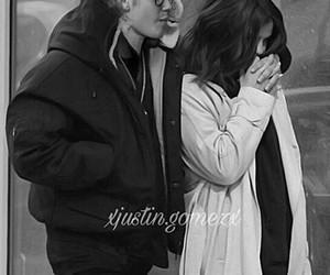 couple, selena gomez, and the weeknd image