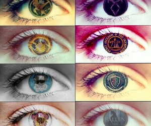 percy jackson, divergent, and books image