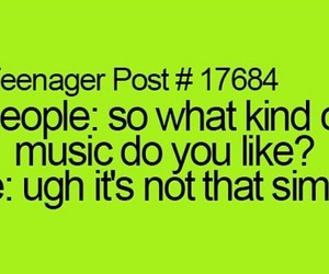 music, escape, and teenager post image