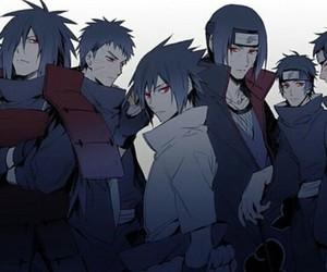 naruto, sasuke, and madara image