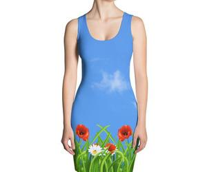 poppies, stradling designs brand, and daisies image