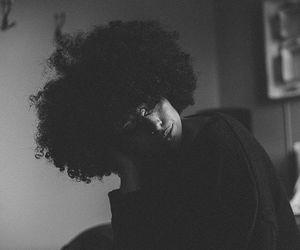 natural hair, big curly hair, and afro hair image