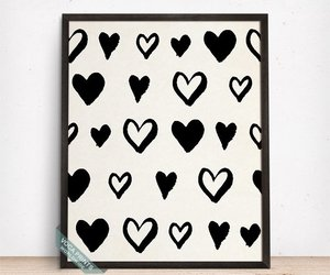 etsy, giclee print, and heart poster image