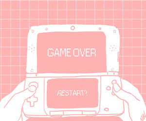 pink, aesthetic, and game image