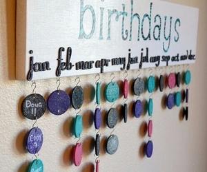 diy, birthday, and ideas image