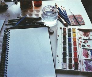 art and watercolor image