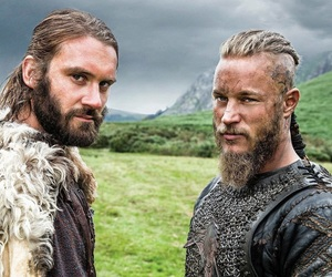 vikings, rollo, and ragnar image