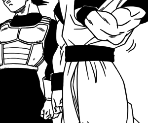 goku and vegeta image