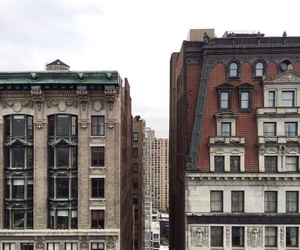 buildings, new york, and places image
