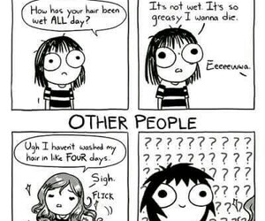 funny, comic, and sarah andersen image