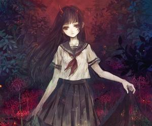 anime, manga, and jigoku shoujo image
