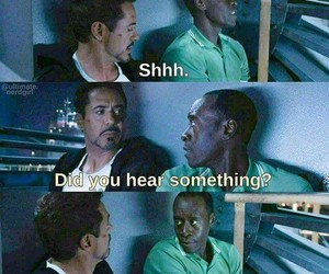 Don Cheadle, funny, and iron man image