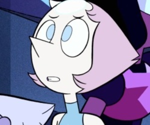 pearl, little space, and steven universe image
