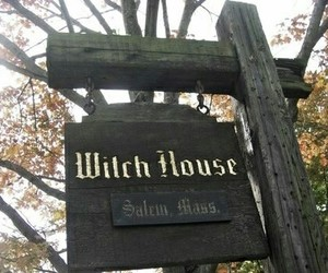 witch, house, and magic image