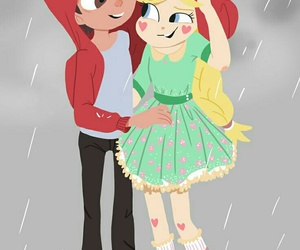 cartoon, starco, and couple image