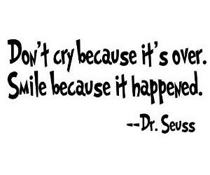 quote, smile, and cry image