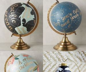 decor, decoration, and globe image