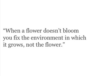 quotes and flower image