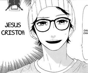 boy, cap, and manga image