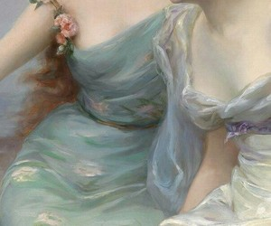 blue, ladies, and lady image