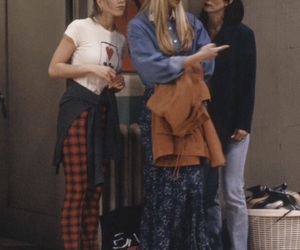 friends, monica geller, and phoebe buffay image