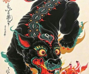 art and japanese image