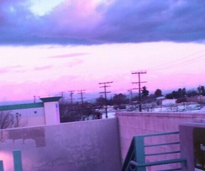 purple, header, and pink image