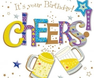 beer, birthday, and hbd image
