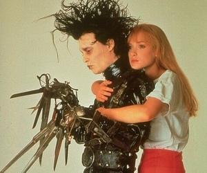 edward scissorhands, johnny depp, and movie image
