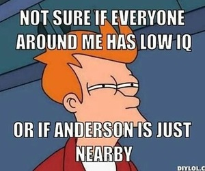 sherlock, anderson, and funny image