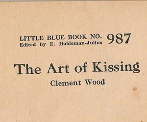 book, art, and kissing image