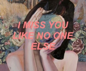 grunge, indie, and i miss you image
