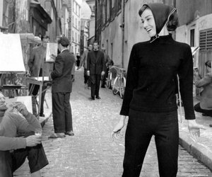 audrey, funny face, and film image