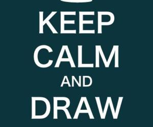 calm, crown, and draw image