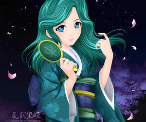 sailor neptune and michiru kaioh image