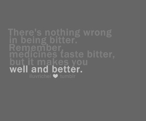 bitter, broken heart, and love quotes image