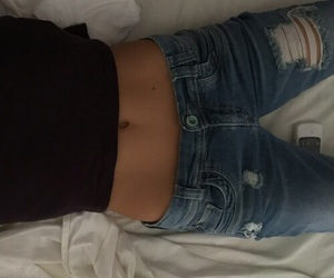 flat and stomach image