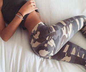 abs, fit, and military image