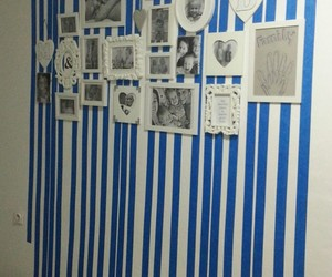 blue, tape, and wall image